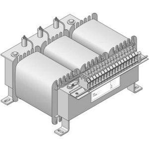 Three-phase transformer Type DTI
