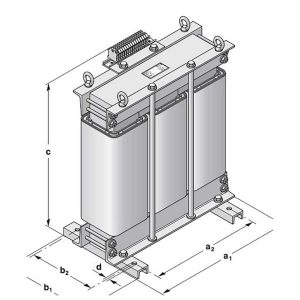 Three-phase transformer Type DTS / DTT II